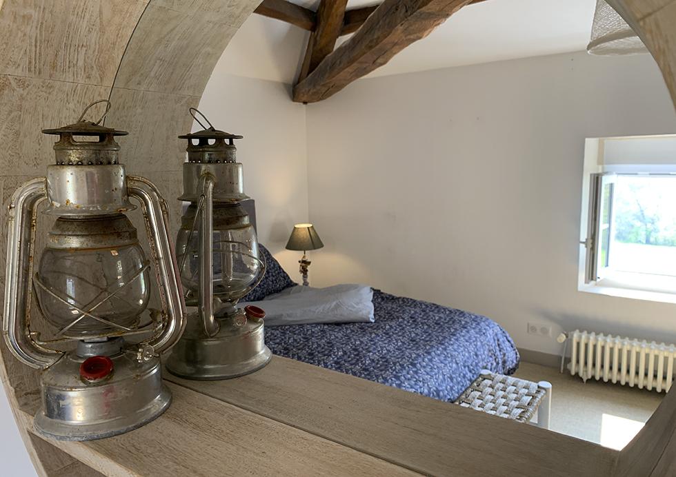 Déco chambre d'hôtes - Montaillon Sud Deux-Sèvres