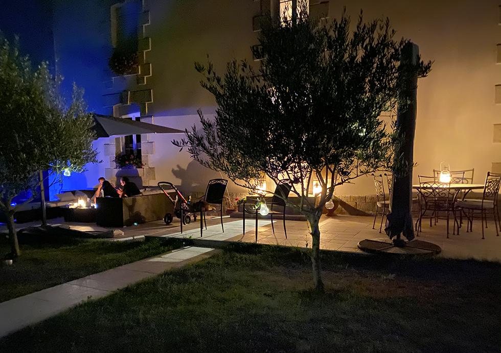 Ambiance du soir - %ontaillon Gîte et Chambres d'hôtes Sud Deux-Sèvres