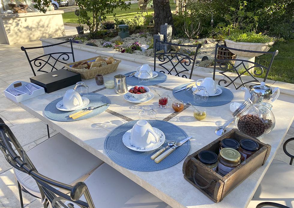 Petit-déjeuner - Montaillon Gîte et Chambres d'hôtes Sud Deux-Sèvres